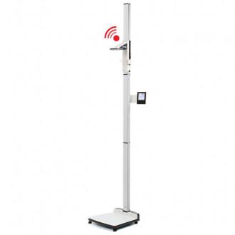 Весы медицинские платформенные с электронным ростомером seca 285 в Самаре